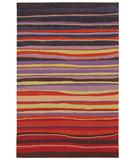 RugStudio presents Shaw Loft Candy Stripes Red 13800 Hand-Tufted, Good Quality Area Rug